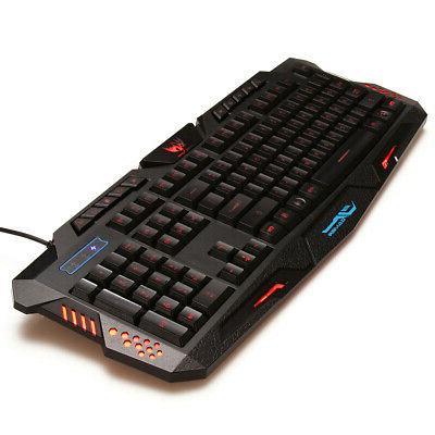 3 LED Backlight Keyboard for Laptop PC U
