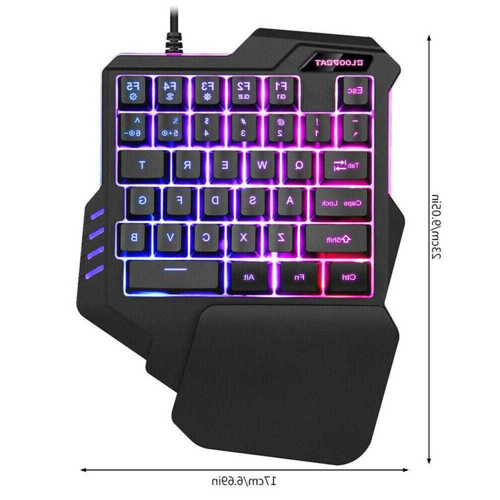 35 One Mechanical Gaming Keyboard and Mouse Game for
