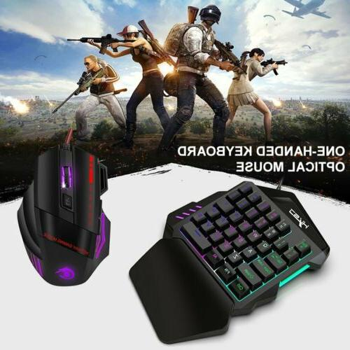 35Keys One-Handed Mouse For Game LOL Dota PUBG
