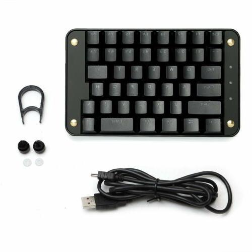 Koolertron Keys Macro Set Keyboard Gateron Red Switch