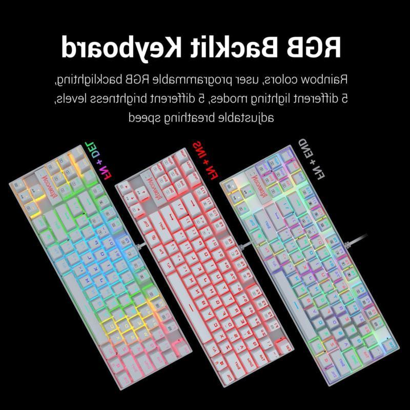 Redragon 60% Mechanical Gaming Keyboard 87 Key