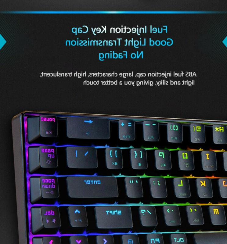 68-Key Keyboard Backlit Extra-Thin
