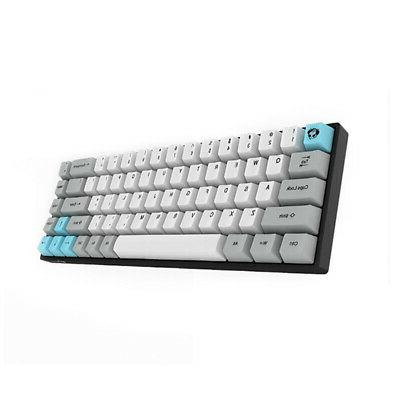 68 Keys Mechanical Keyboard Wireless Portable