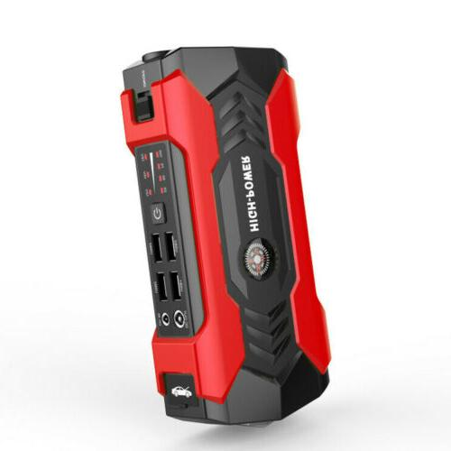 69800mAh 12V Starter Portable Power Bank Booster Clamp 600A