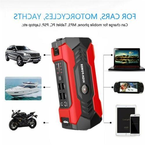 69800mAh 12V Car Starter Portable USB Bank Booster 600A