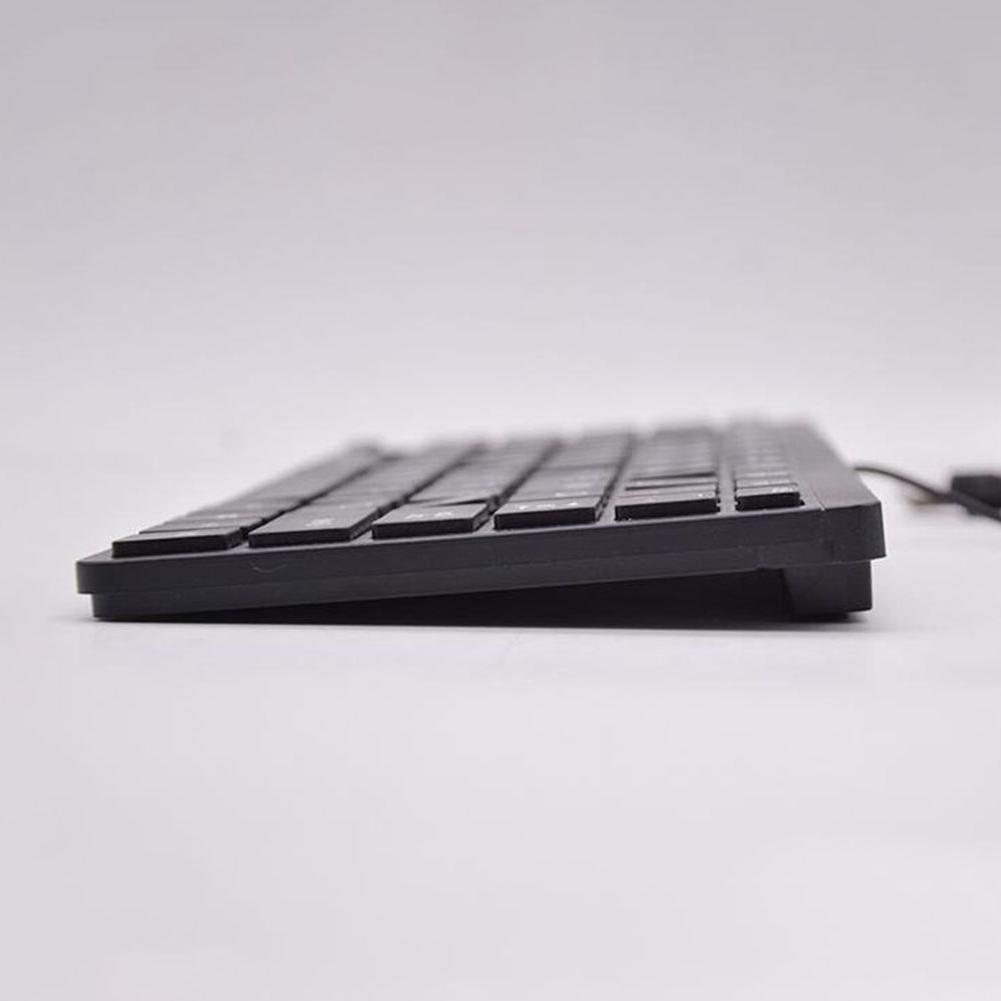 78 Keys Accessories Quiet Ultra-<font><b>thin</b></font> USB Compact Mini Wired Slim PC