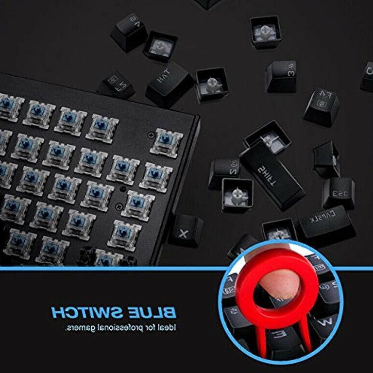 87 Key Water Resistant Mechanical Gaming Combo SwitchesSQ