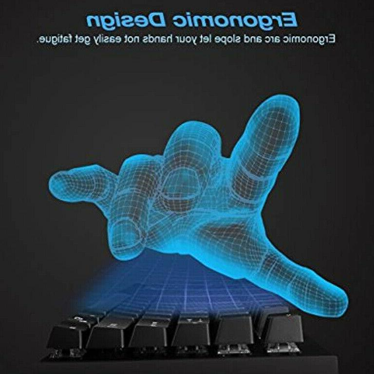 87 Resistant Mechanical Gaming Keyboard Combo W/ SwitchesSQ