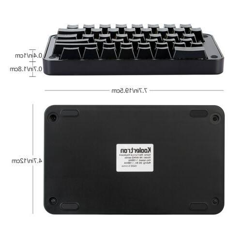 89 Programmable Keyboard Koolertron Mechanical Macro