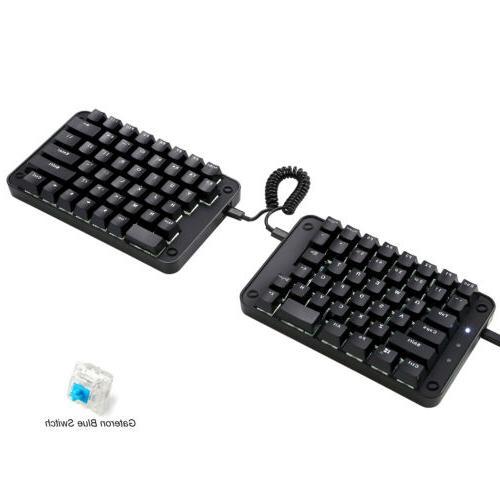 89 Programmable Keyboard Koolertron Split Mechanical Macro Keys