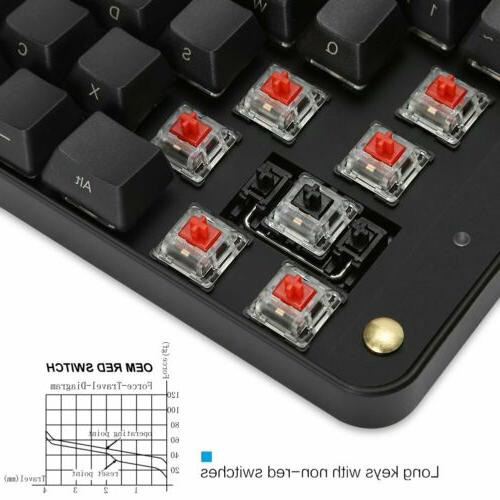 89 Mechanical Keyboard OEM Red Switch