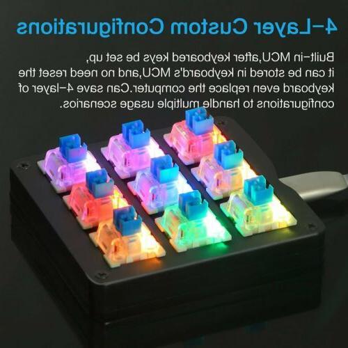 9 Keyboard RGB Switches