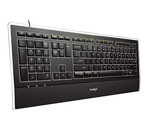 Logitech K740 Keyboard and Rest
