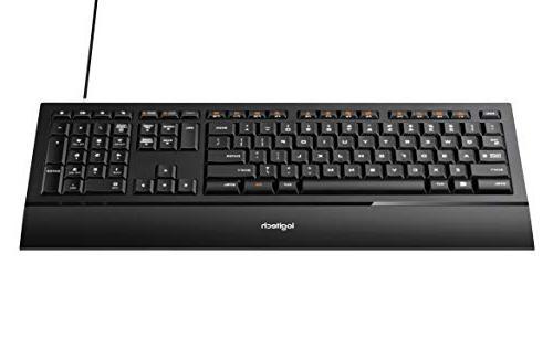 Logitech Ultrathin K740 Keyboard and Soft-touch Rest