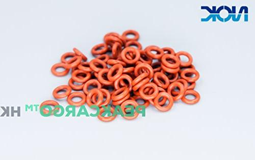 Qty 150 Rubber O-Ring Dampers keycap Key Switch Mechanical Keyboard CHERRY MX