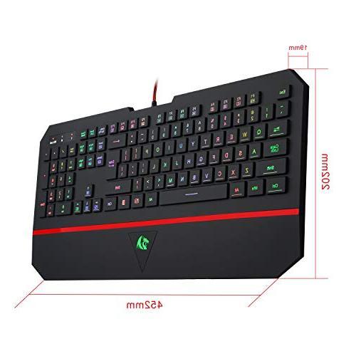 Redragon K502 Gaming RGB Karura with Rest