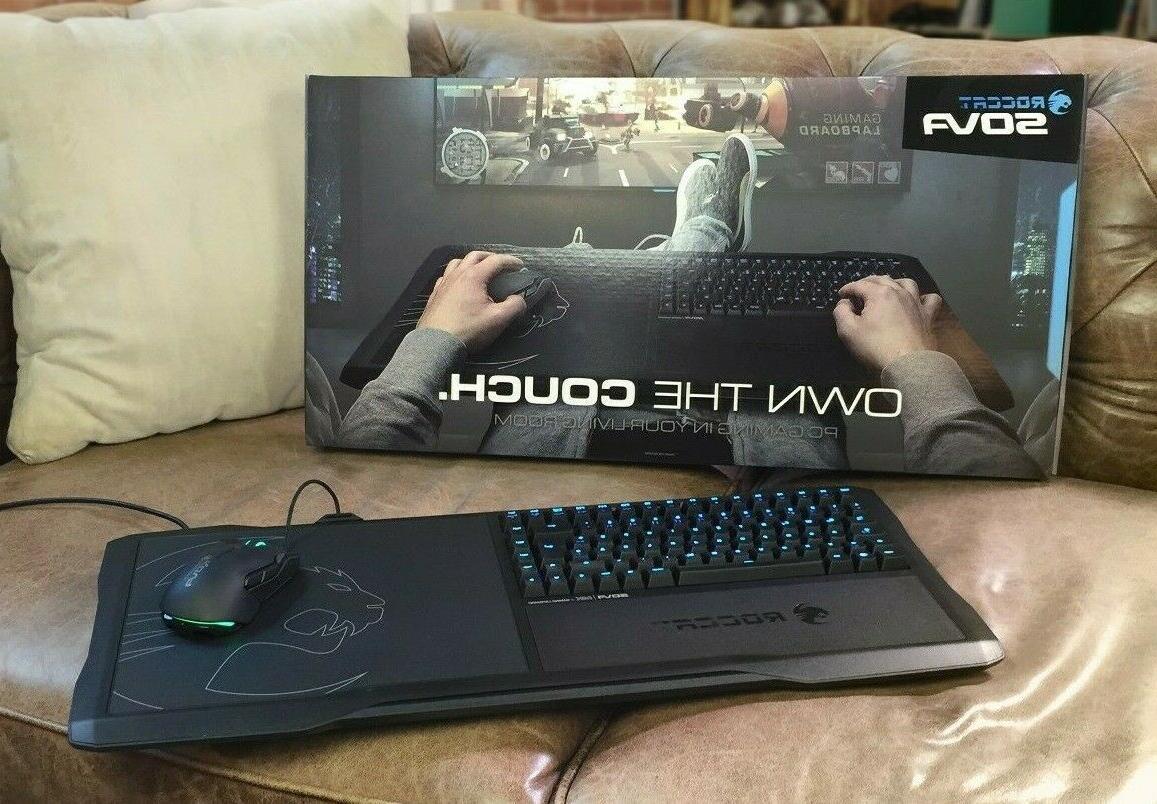 Roccat - Sova Gaming Mechanical Keyboard - Black