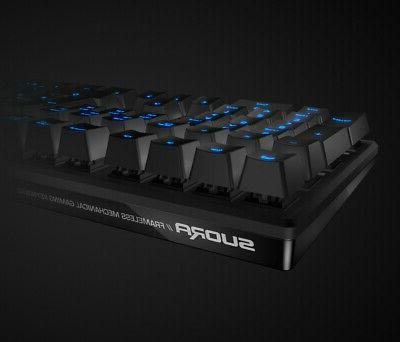 Roccat® - Suora Frameless Mechanical Gaming Keyboard - B