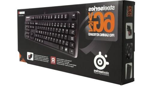 SteelSeries 6Gv2 Mechanical Keyboard Red Switches