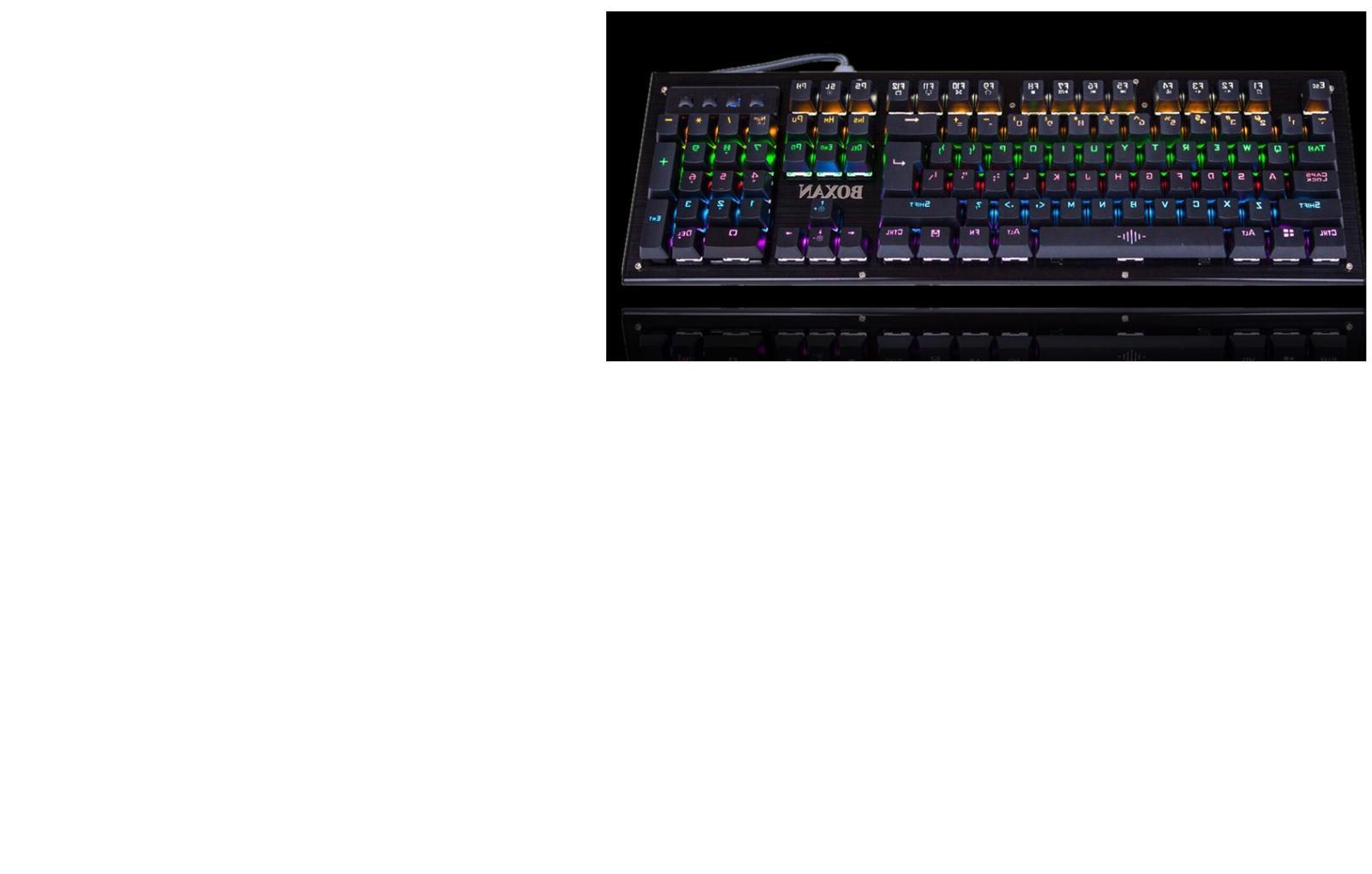 ACGAM AG6X keyboard programmable US White
