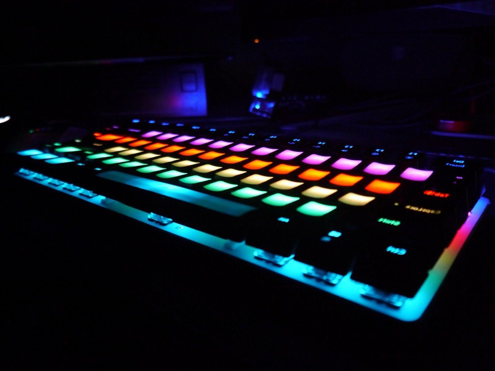 Ajazz Mech Keyboard 82 Keys, Blue Switches, Decals