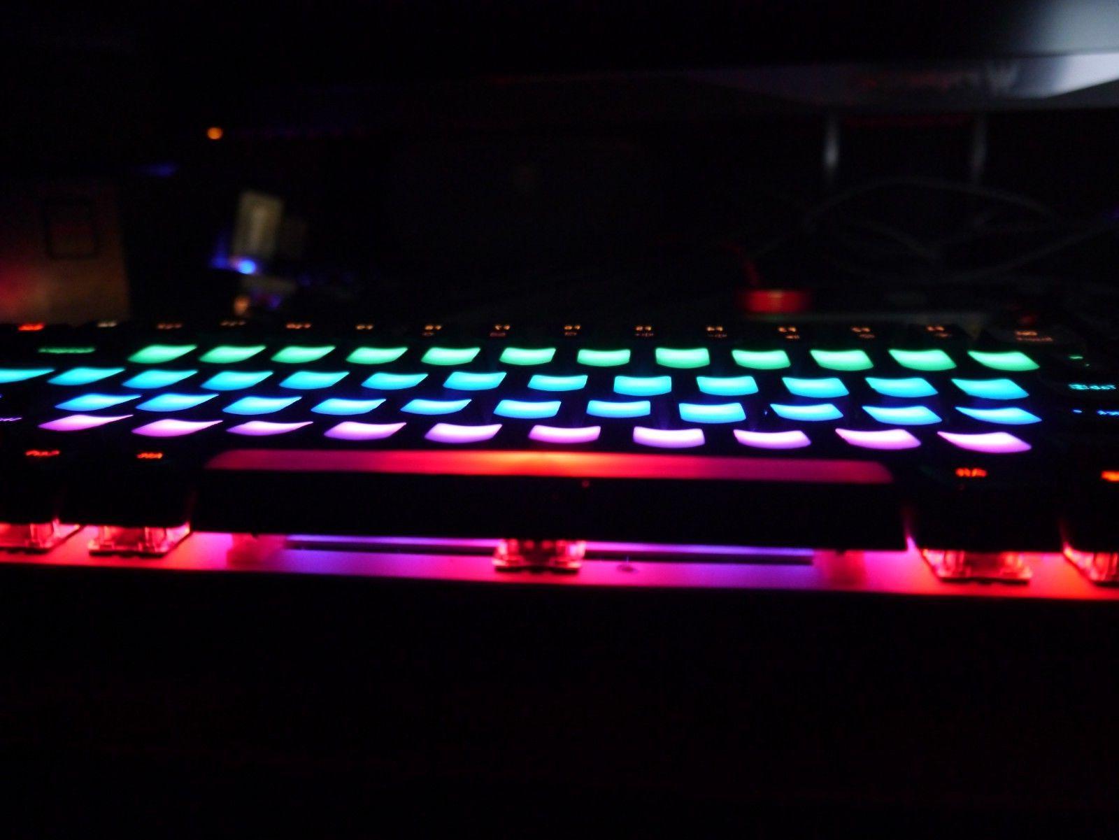 Ajazz RGB Mech Keyboard , Keys, Blue Switches, Decals