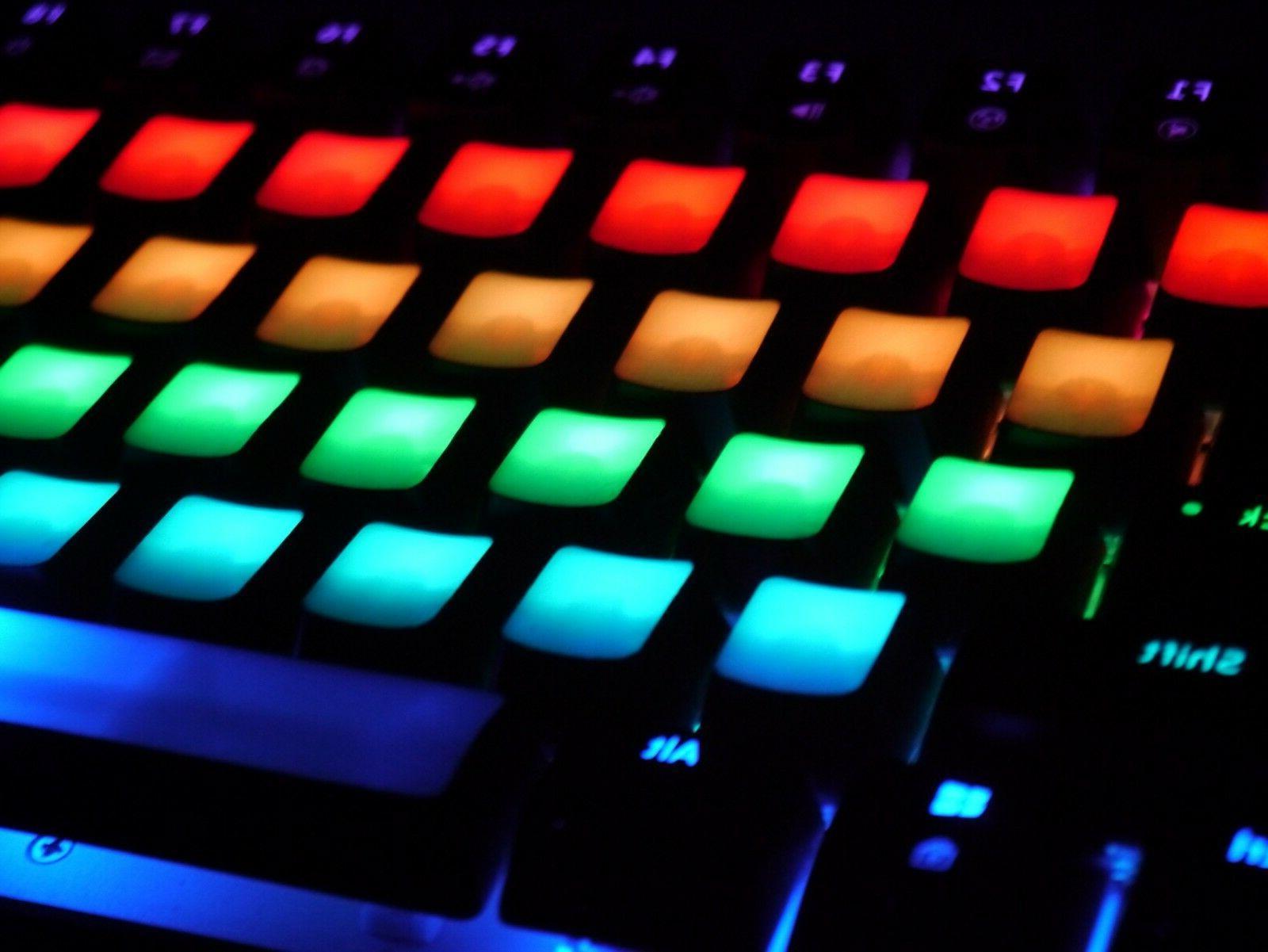 Ajazz AK33 Geek RGB Mech Keyboard , 82 Keys, Decals