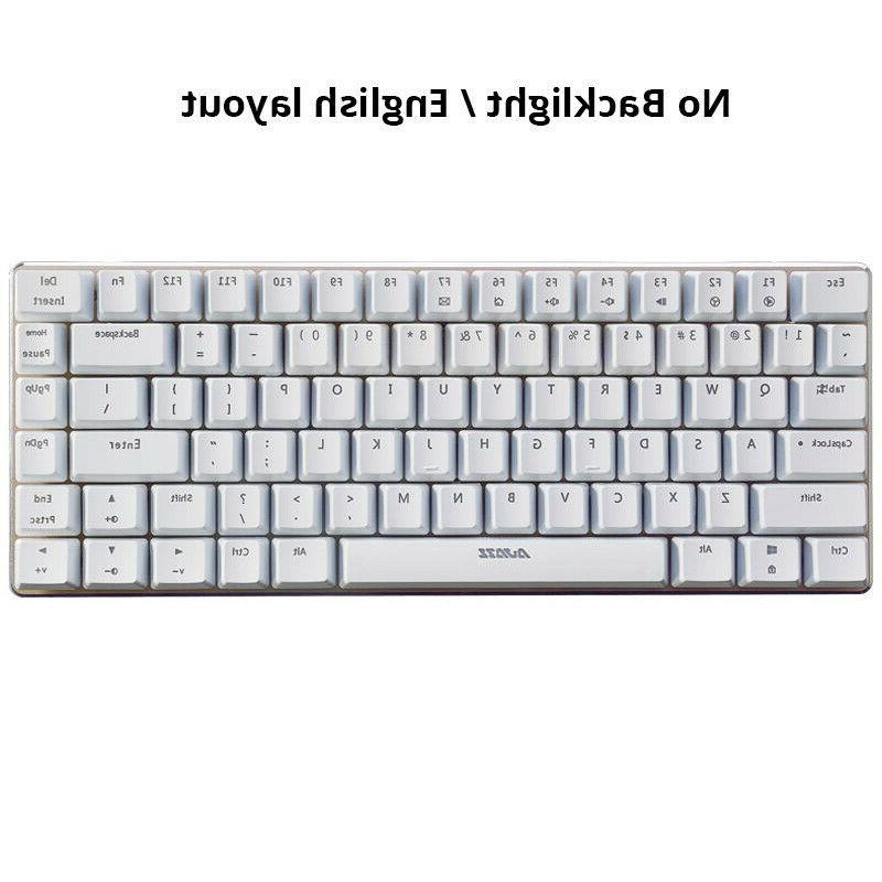 Ajazz AK33 mechanical keyboard English layout gaming