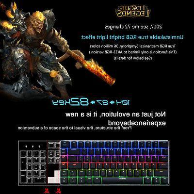 RGB 82 Keys for Laptop
