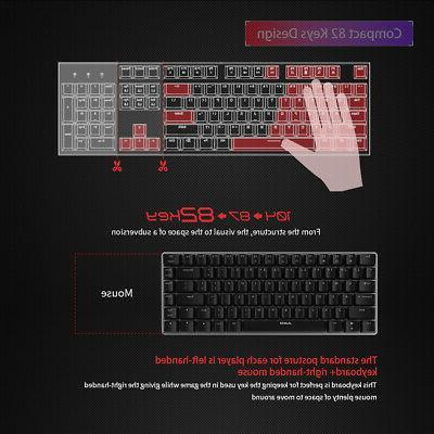 AJAZZ AK33 USB Wired Gaming Keyboard Keys for F7H3