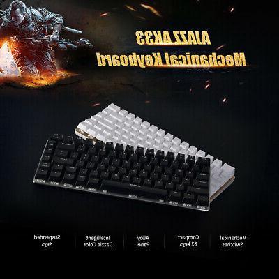 ak33 mechanical usb wired gaming keyboard 82