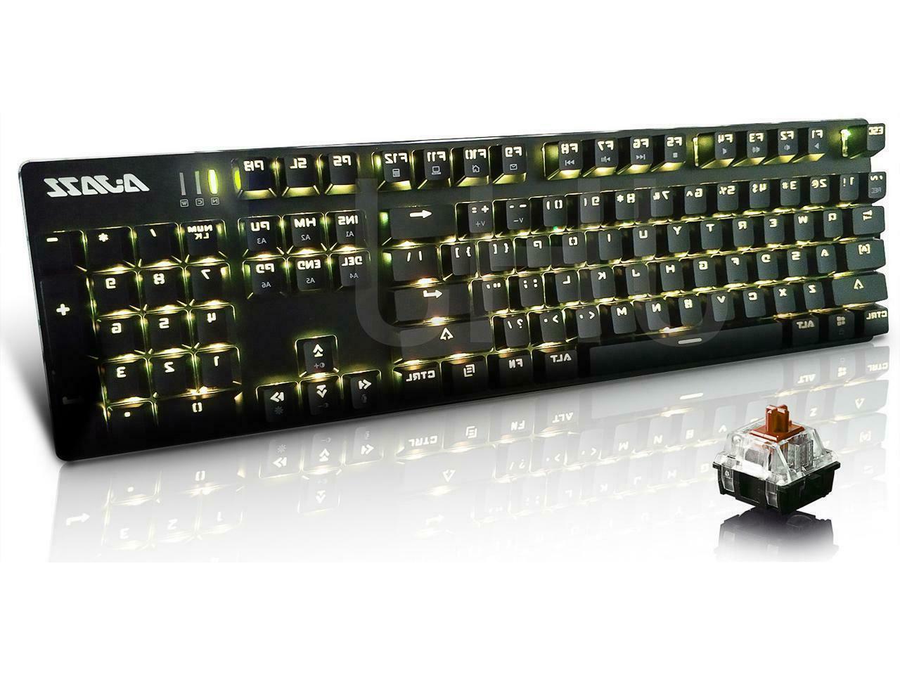 Ajazz AK52 Keys/Backlit USB Wired