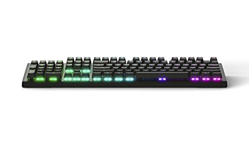 SteelSeries M750 RGB Mechanical Gaming Keyboard - Aluminum - LED Backlit & Discord Notifications