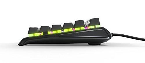 SteelSeries TKL RGB Tenkeyless Keyboard - Aluminum - RGB - Switch