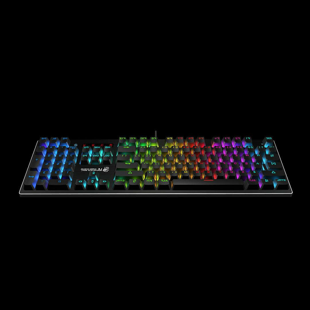 Bloody Gaming keyboard backlit RGB ...