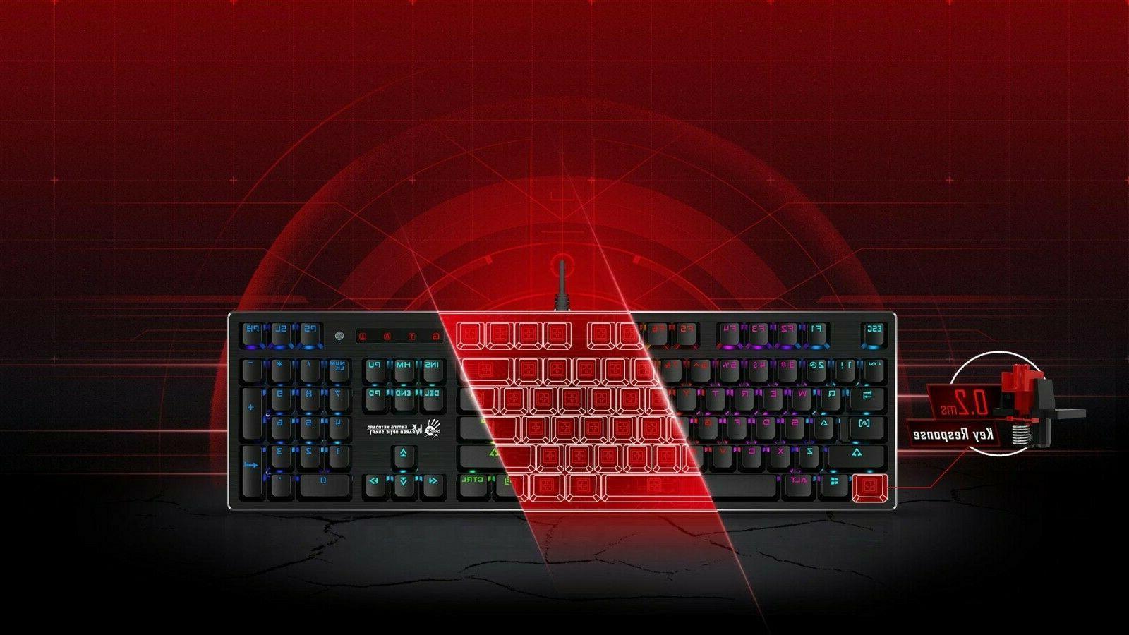 Bloody Optical Mechanical Gaming keyboard ...