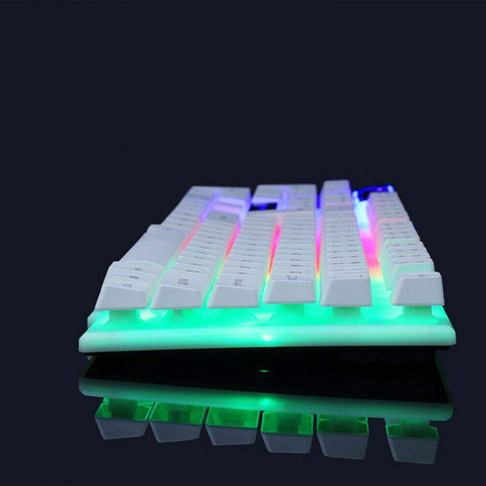 Computer RGB Keyboard And Feeling