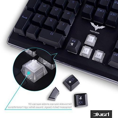 HAVIT RGB Backlit Membrane Typing/Gaming