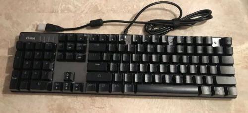 Beautiful Aukey RGB Mechanical Keyboard New