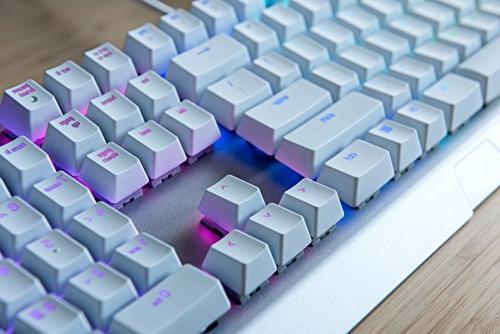 Esports Gaming Keyboard - Military Grade - Durable 80 Million Keystrokes Razer Green Mechanical -