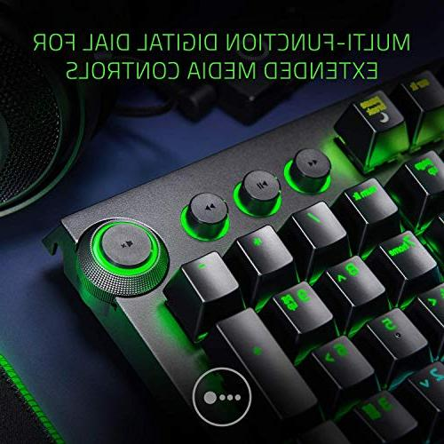 Razer BlackWidow Elite: Gaming Digital Media Wrist Orange Switches
