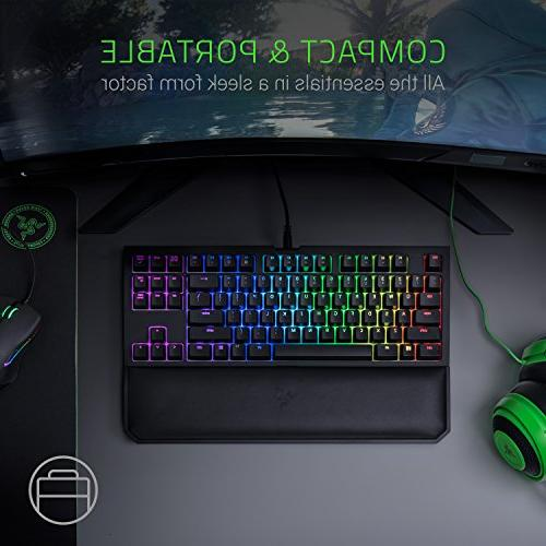 Chroma V2: Keyboard Rest - Tenkeyless Design - Mechanical Switches