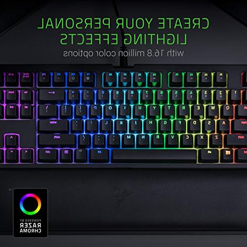 Razer Chroma Keyboard Rest Tenkeyless - Razer Green Switches