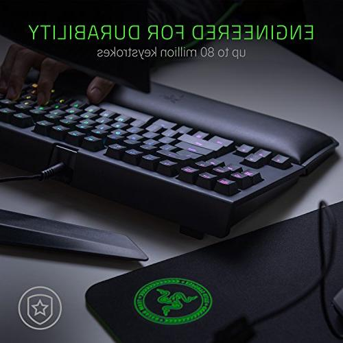 Razer Chroma Esports Keyboard Ergonomic Rest - - Razer Green Mechanical Switches
