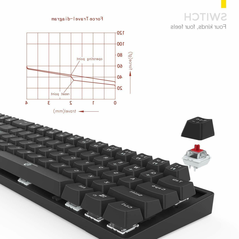 DREVO Calibur 71-Key Keyboard TKL Bluetooth/USB