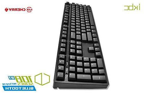iKBC Wired + Wireless 2 in 1 Mechanical Keyboard MX Blue iOS, Mac