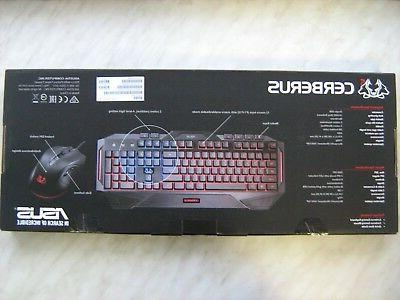 ASUS Gaming Combo Layout Wired USB