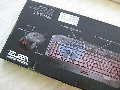 ASUS Cerberus Keyboard Gaming Combo Layout Wired