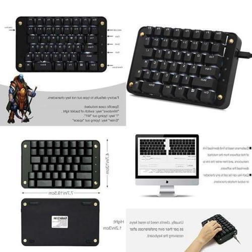 Koolertron Cherry Mx Black Programmable Gaming Keypad Mechan