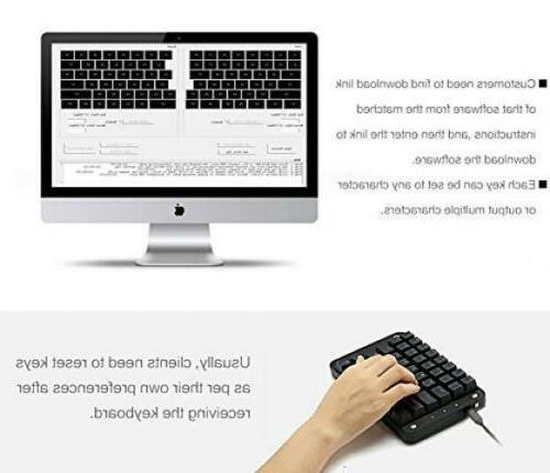 Koolertron Cherry Programmable Gaming Keyboard